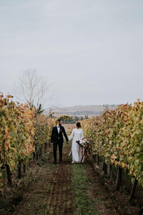 Romantic Vintage Italian Winery Wedding Inspiration – Giulia Santarelli 32