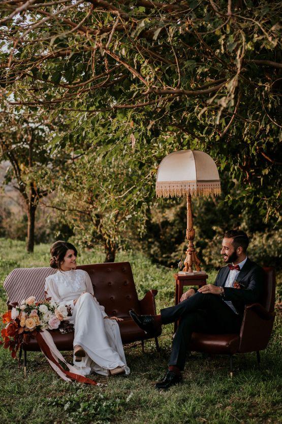 Romantic Vintage Italian Winery Wedding Inspiration – Giulia Santarelli 34