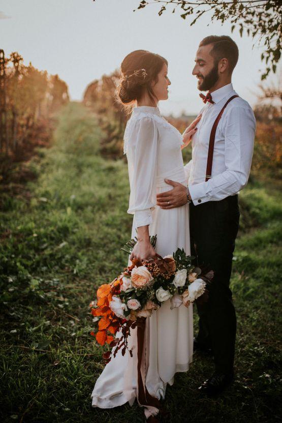 Romantic Vintage Italian Winery Wedding Inspiration – Giulia Santarelli 35