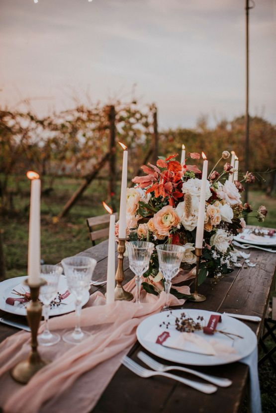 Romantic Vintage Italian Winery Wedding Inspiration – Giulia Santarelli 38