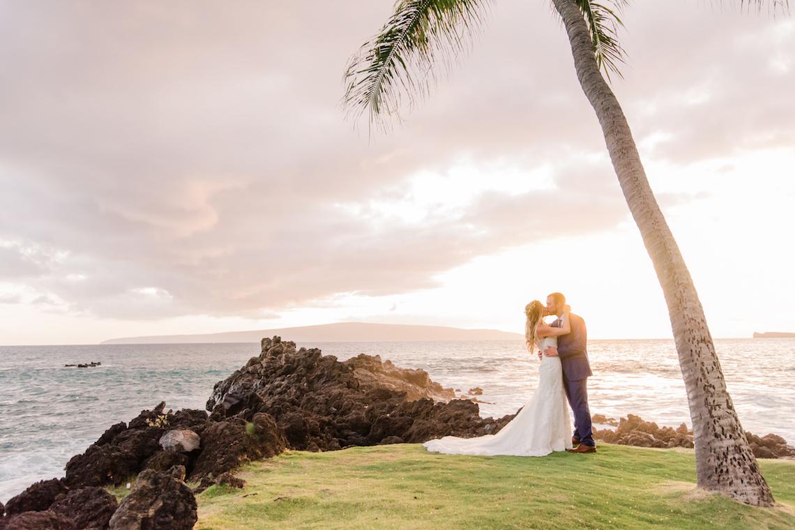Tropical Maui Lava Field Wedding – Marlayna Photography 1