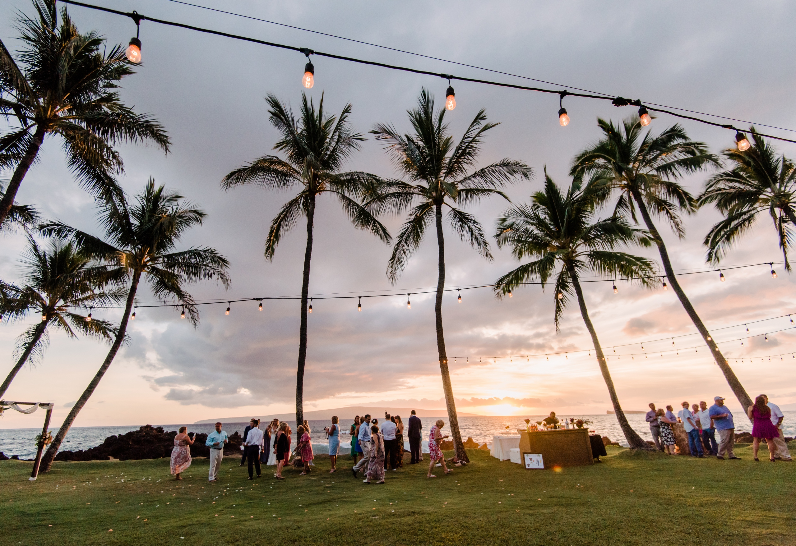 Tropical Maui Lava Field Wedding – Marlayna Photography 19