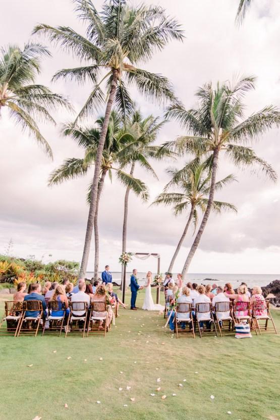 Tropical Maui Lava Field Wedding – Marlayna Photography 46