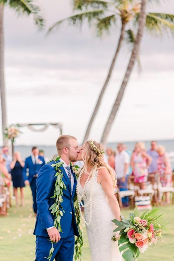Tropical Maui Lava Field Wedding – Marlayna Photography 47
