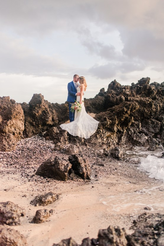 Tropical Maui Lava Field Wedding – Marlayna Photography 53