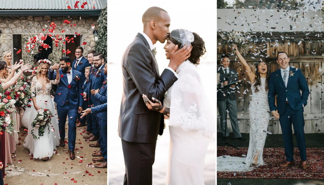 Bridal Musings Real Wedding couples celebrate