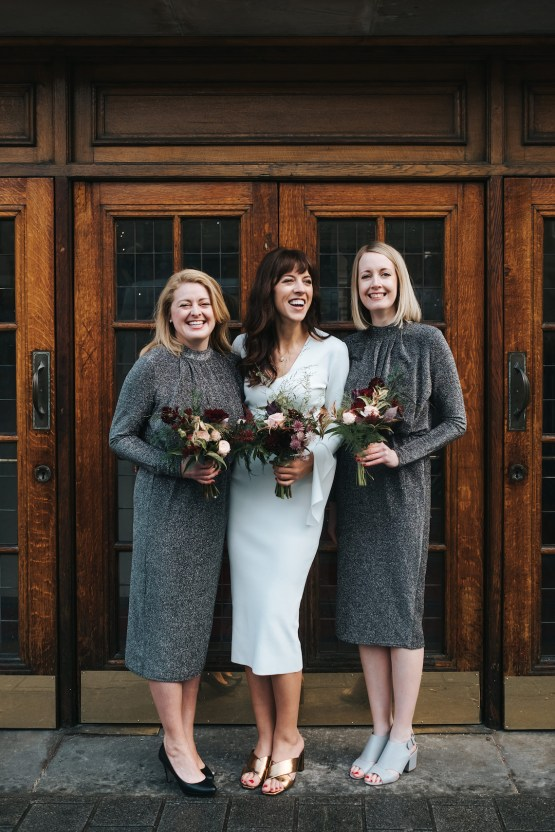 City Chic London Town Hall Winter Wedding – Miss Gen Photography 21