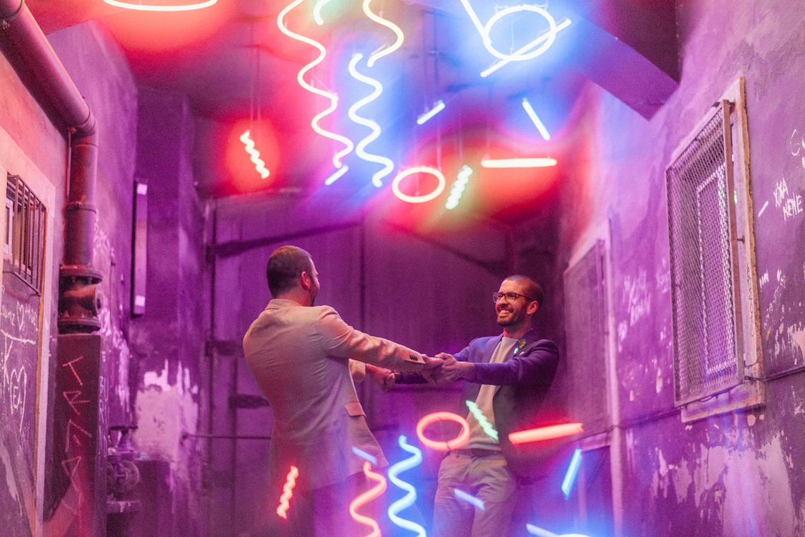 Organic Technicolor Lisbon Gay Elopement Inspiration – Happy Together Films – Adriana Morais Fotografia 6