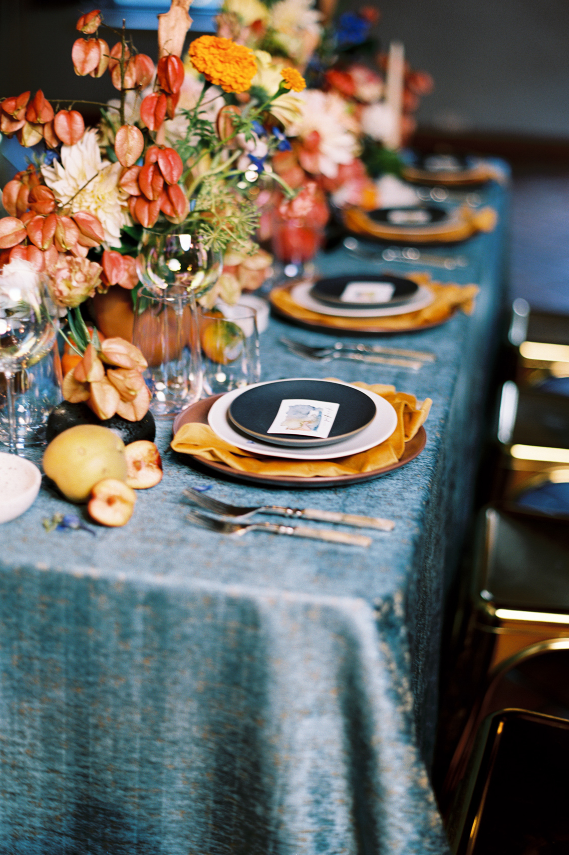 Persimmon and Pomegranate – Warm Rustic Wedding Ideas – Aiza Photography 60