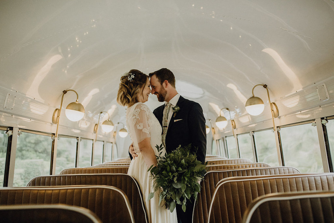 Quirky Vintage Food Truck Wedding Filled With Details – Amanda Rose Weddings – Kara Quinn Photography 13