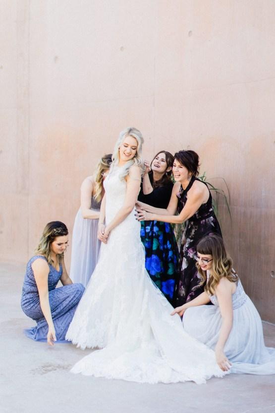 Rustic Blue Las Vegas Desert Wedding – Susie and Will 16