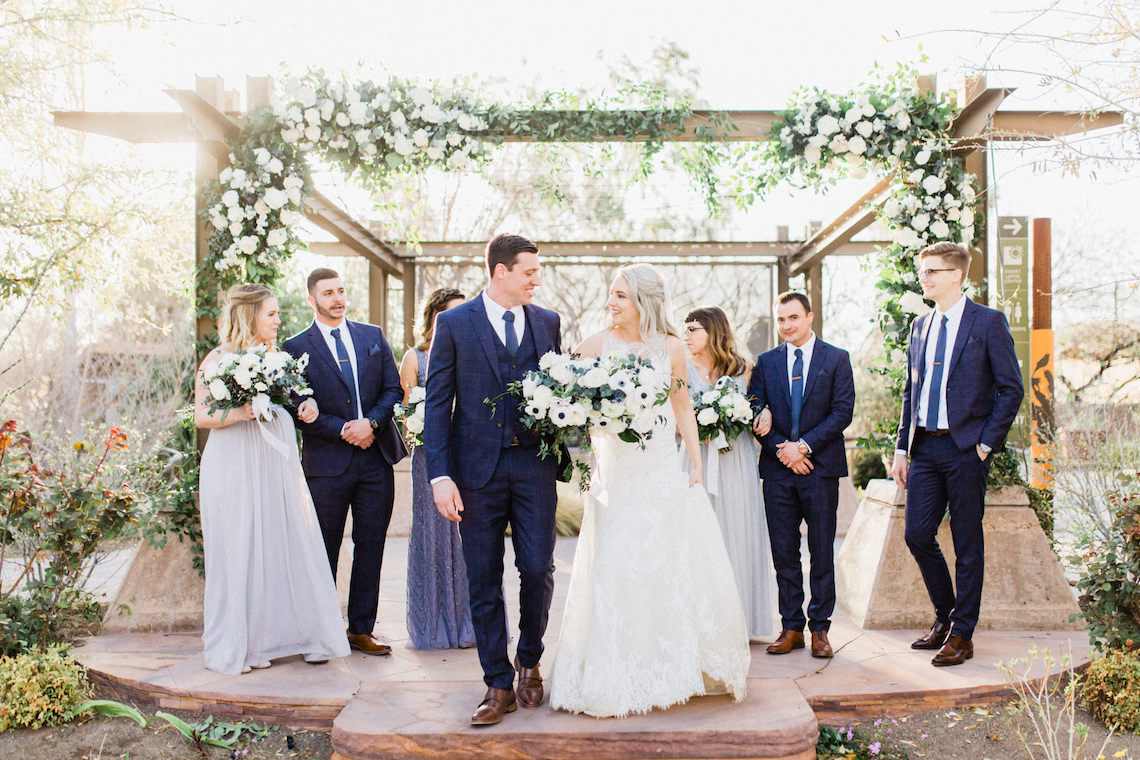 Rustic Blue Las Vegas Desert Wedding – Susie and Will 3