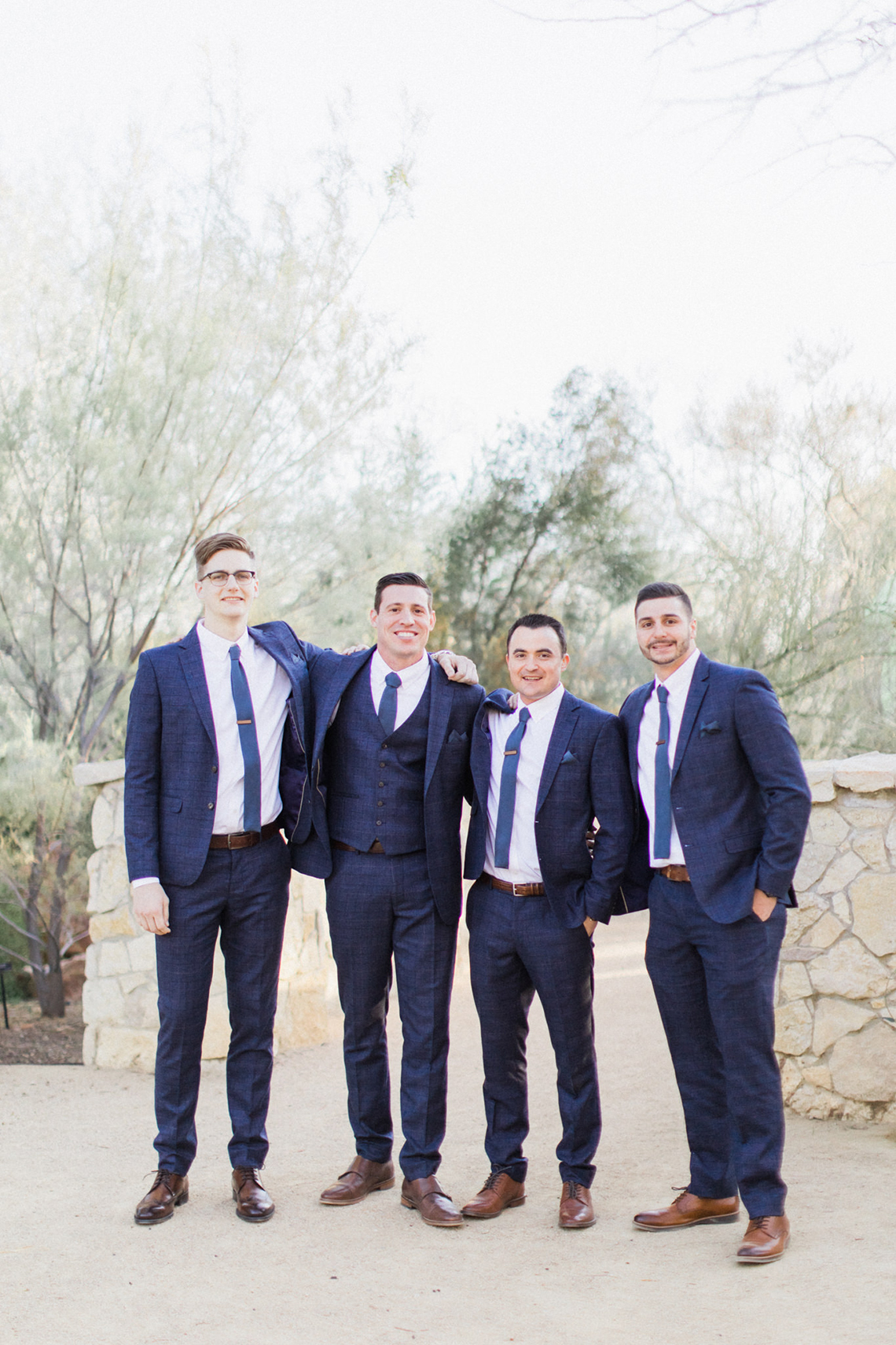 Rustic Blue Las Vegas Desert Wedding – Susie and Will 32