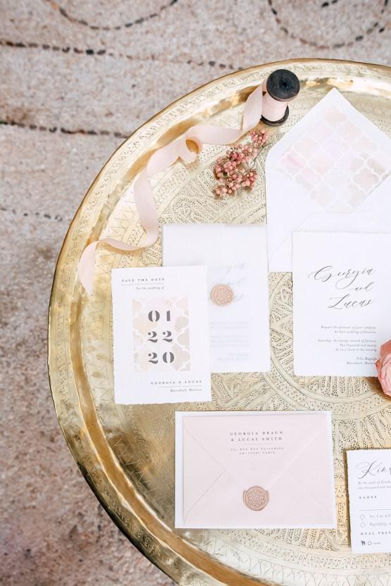 Sparkling Moroccan Wedding Inspiration – Villa Magtafa Marrakech – The Saums – IDO Events 25