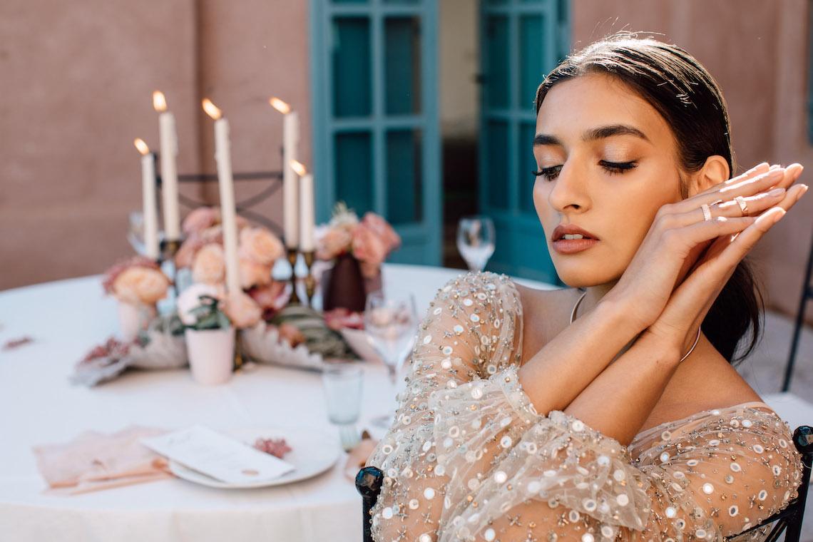 Sparkling Moroccan Wedding Inspiration – Villa Magtafa Marrakech – The Saums – IDO Events 3