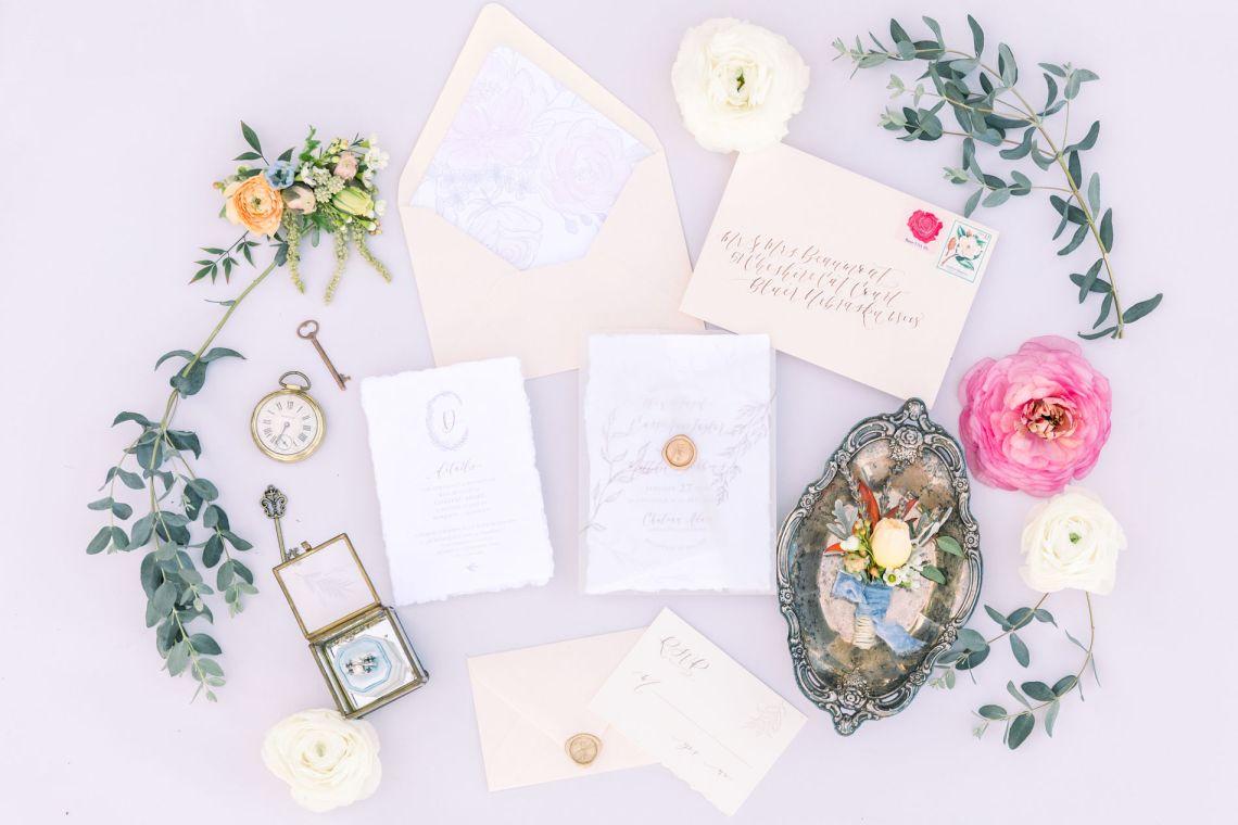 Whimsical Blue Alice and Wonderland Wedding Inspiration – Stephanie Weber Photography 1