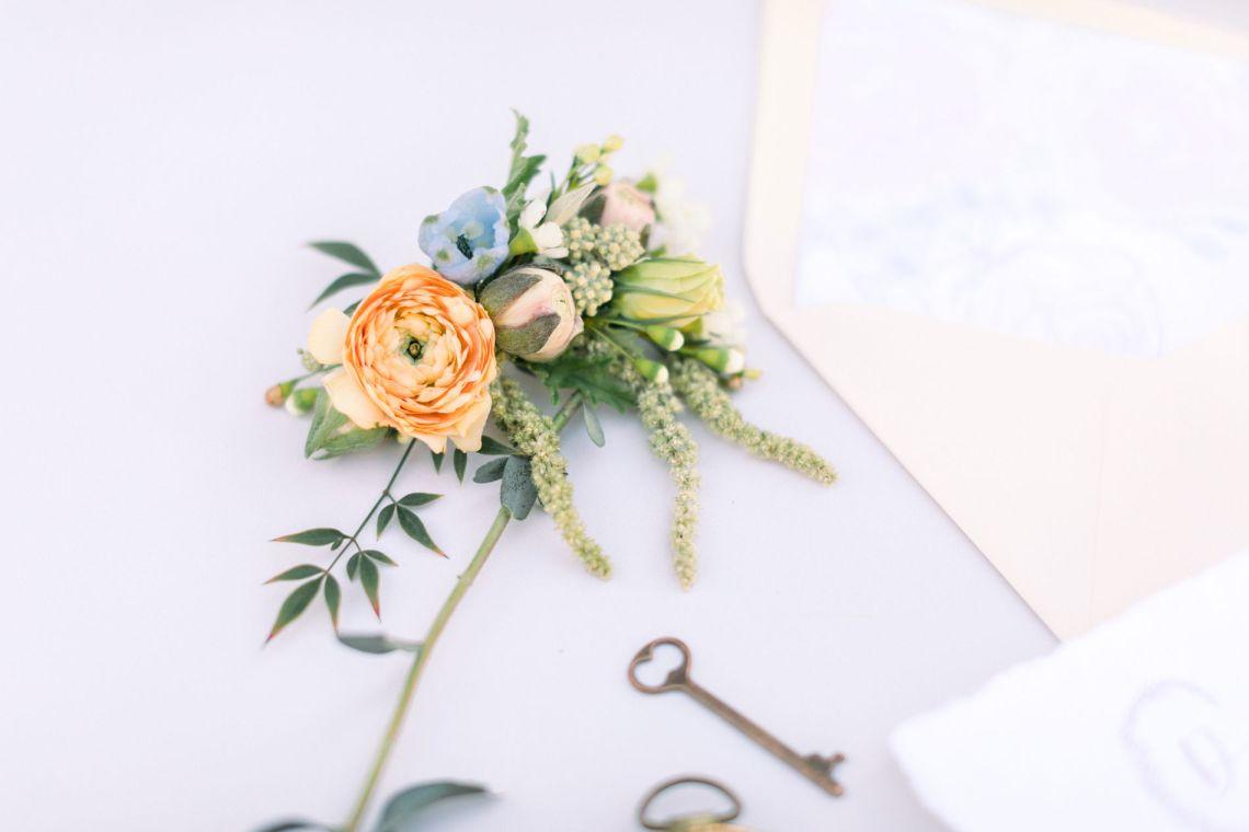 Whimsical Blue Alice and Wonderland Wedding Inspiration – Stephanie Weber Photography 2