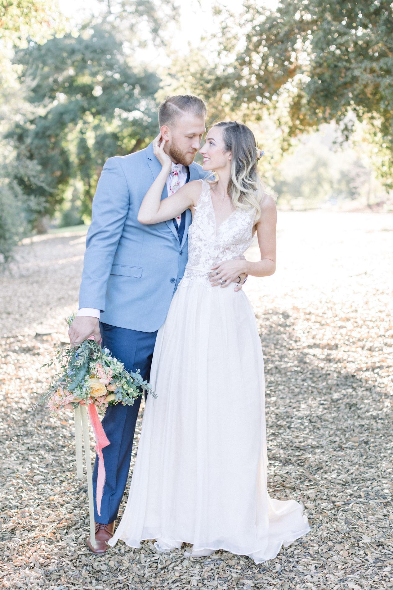 Whimsical Blue Alice and Wonderland Wedding Inspiration – Stephanie Weber Photography 25
