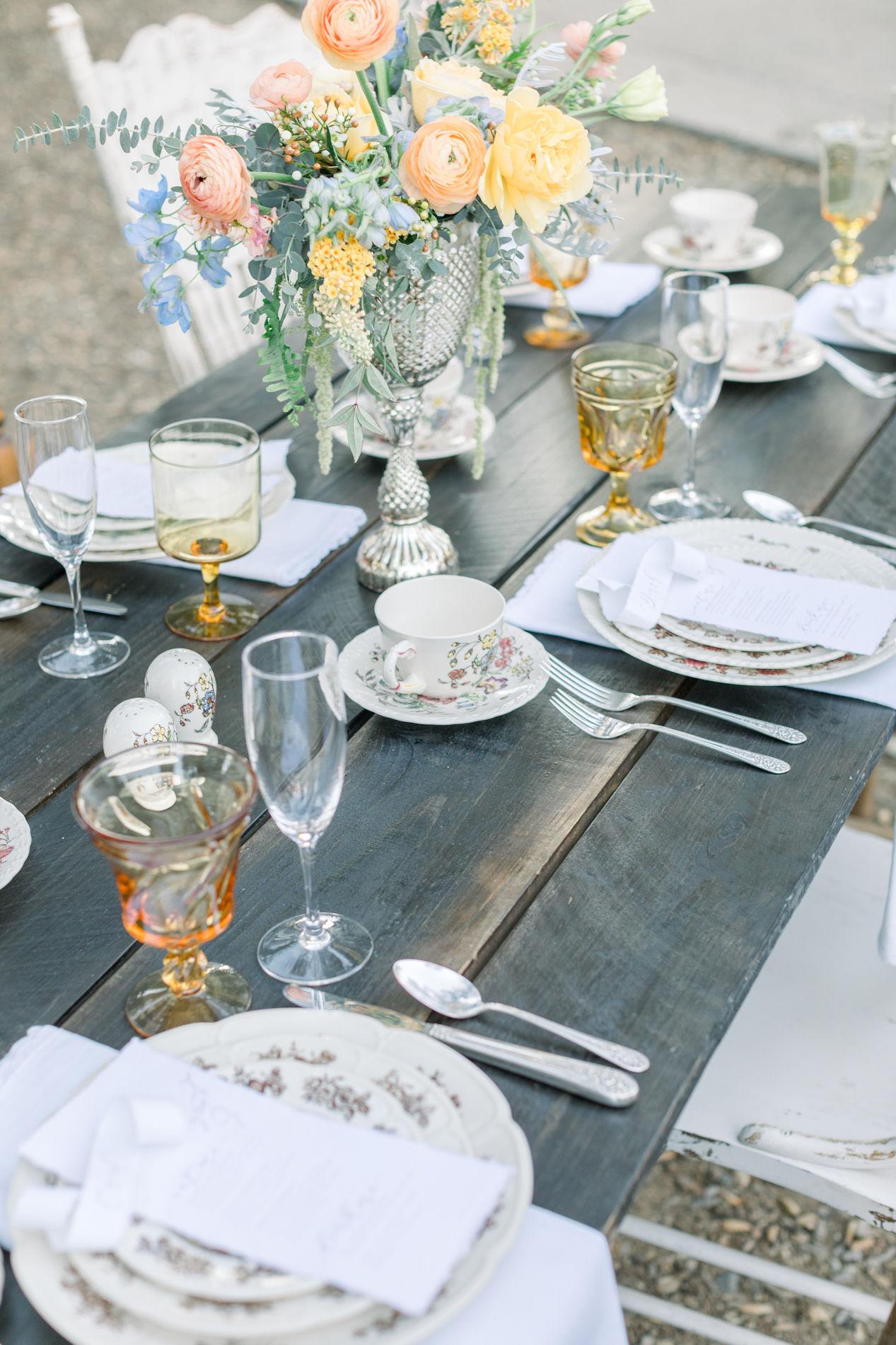 Whimsical Blue Alice and Wonderland Wedding Inspiration – Stephanie Weber Photography 37