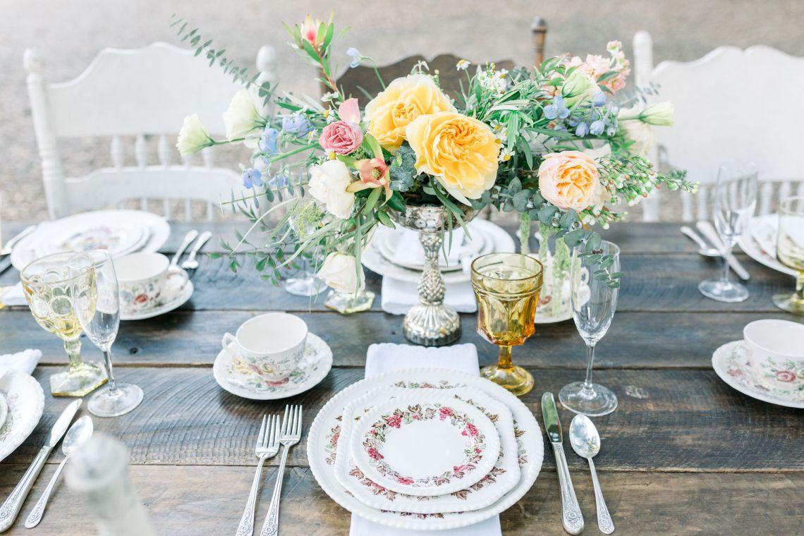 Whimsical Blue Alice and Wonderland Wedding Inspiration – Stephanie Weber Photography 5