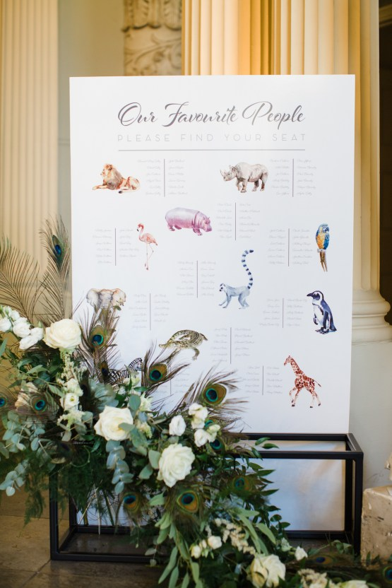 Adorable Animal-themed Wedding in a Castle Wedding Venue – Lucy Davenport Photography 17