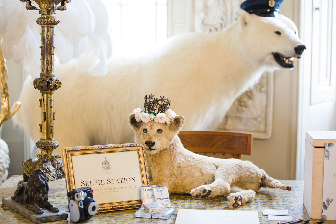 Adorable Animal-themed Wedding in a Castle Wedding Venue – Lucy Davenport Photography 6