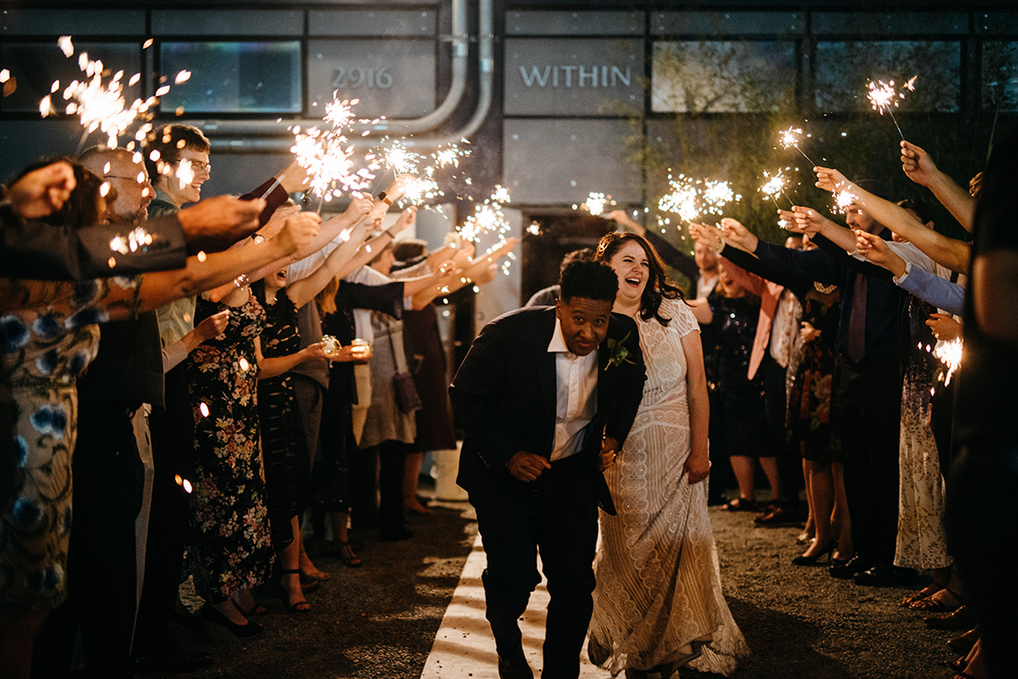 Art Deco-Inspired Wedding in Seattle