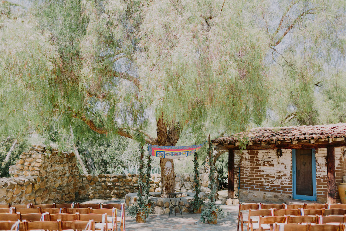 Colorful Boho Palm Springs Jewish Wedding – Lets Frolic Together 6