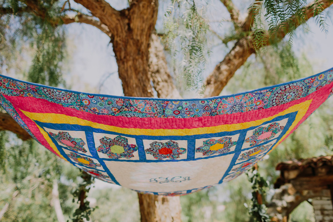 Colorful Boho Palm Springs Jewish Wedding – Lets Frolic Together 7