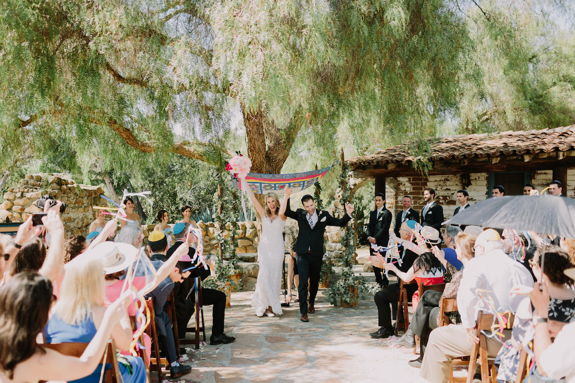 Colorful Boho Palm Springs Jewish Wedding – Lets Frolic Together 8