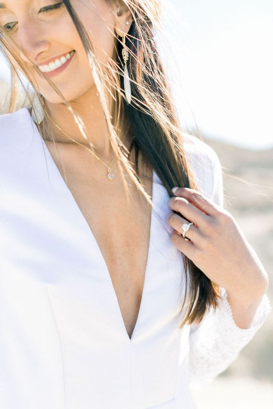 Rainbow Basin Desert Wedding Inspiration with Moon Stationery – Victoria Masai Photography 11