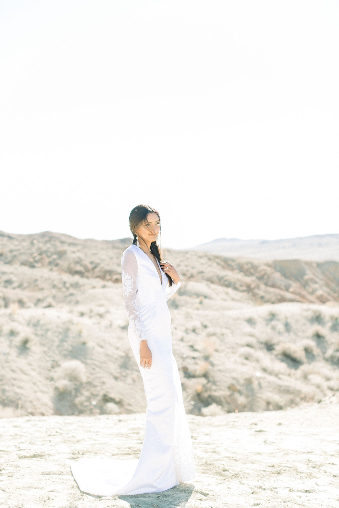 Rainbow Basin Desert Wedding Inspiration with Moon Stationery – Victoria Masai Photography 13
