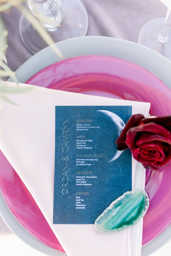 Rainbow Basin Desert Wedding Inspiration with Moon Stationery – Victoria Masai Photography 22