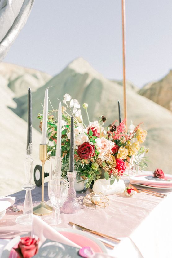 Rainbow Basin Desert Wedding Inspiration with Moon Stationery – Victoria Masai Photography 24