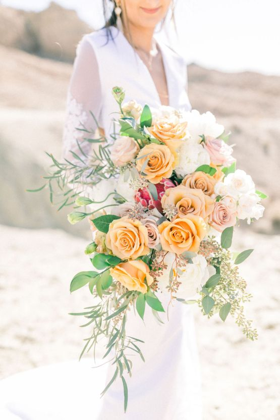 Rainbow Basin Desert Wedding Inspiration with Moon Stationery – Victoria Masai Photography 3
