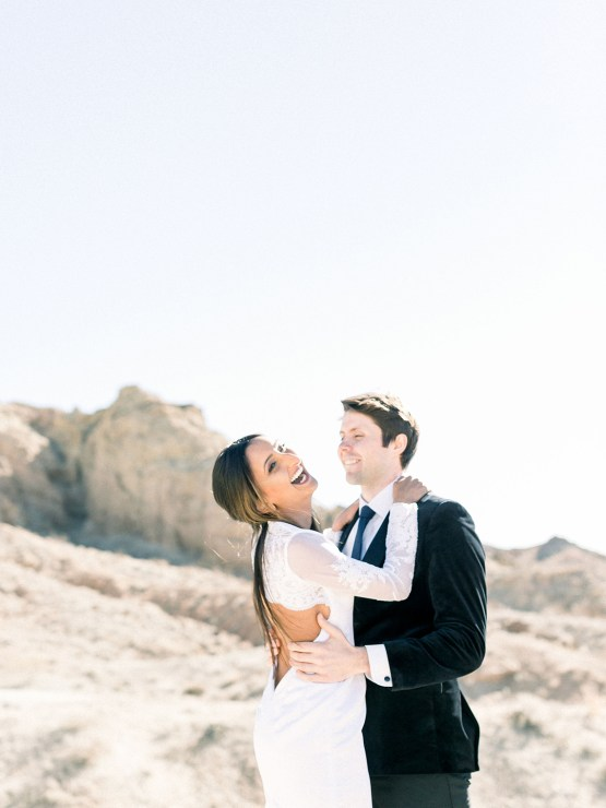 Rainbow Basin Desert Wedding Inspiration with Moon Stationery – Victoria Masai Photography 30