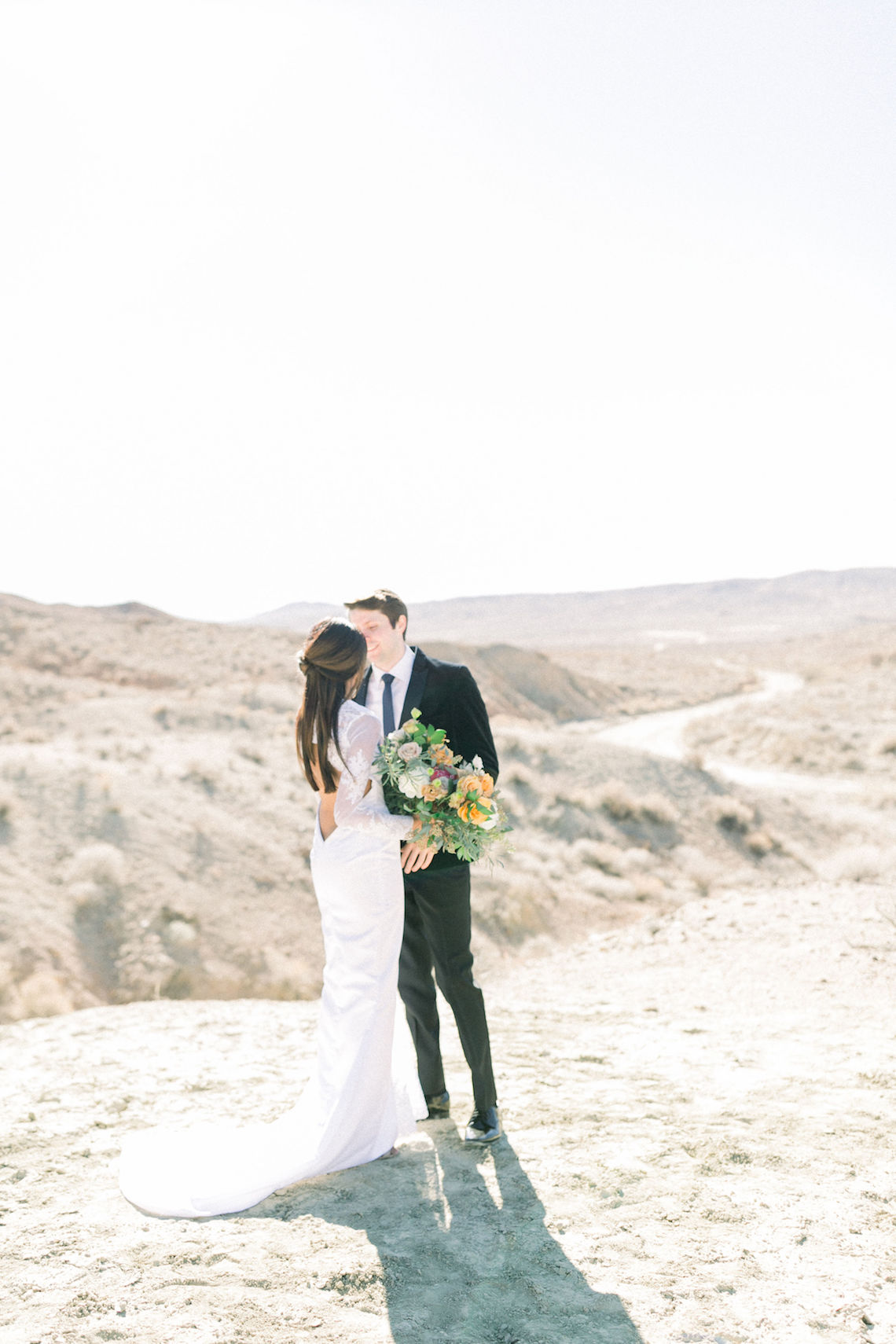 Rainbow Basin Desert Wedding Inspiration with Moon Stationery – Victoria Masai Photography 5