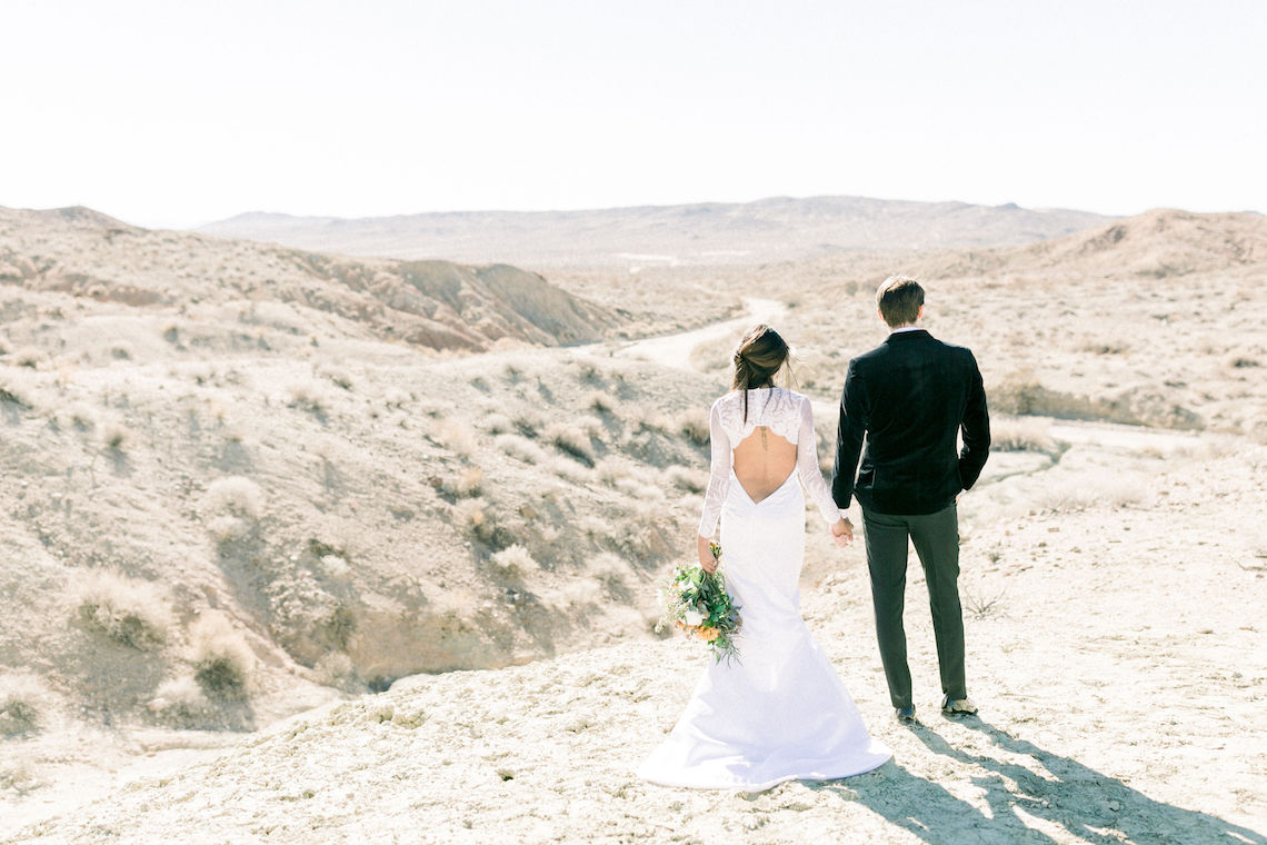 Rainbow Basin Desert Wedding Inspiration with Moon Stationery – Victoria Masai Photography 8