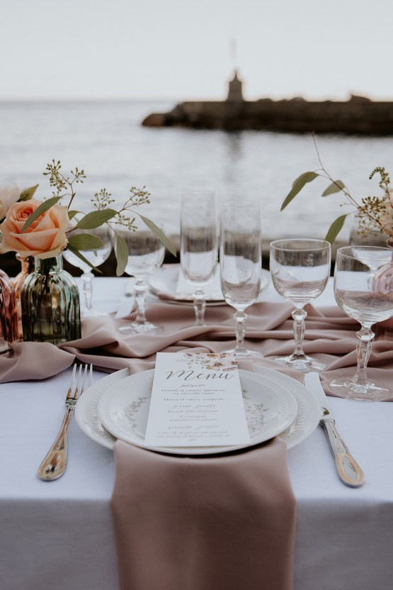 Rose Gold and Copper Cinque Terre Fall Wedding Inspiration – Di Luce e d Ombra – Greta Betton Wedding Planner 20