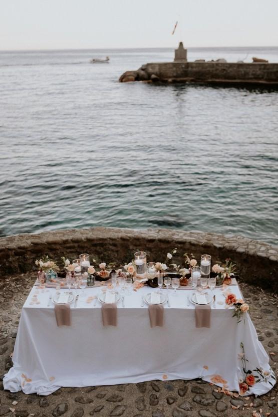 Rose Gold and Copper Cinque Terre Fall Wedding Inspiration – Di Luce e d Ombra – Greta Betton Wedding Planner 24