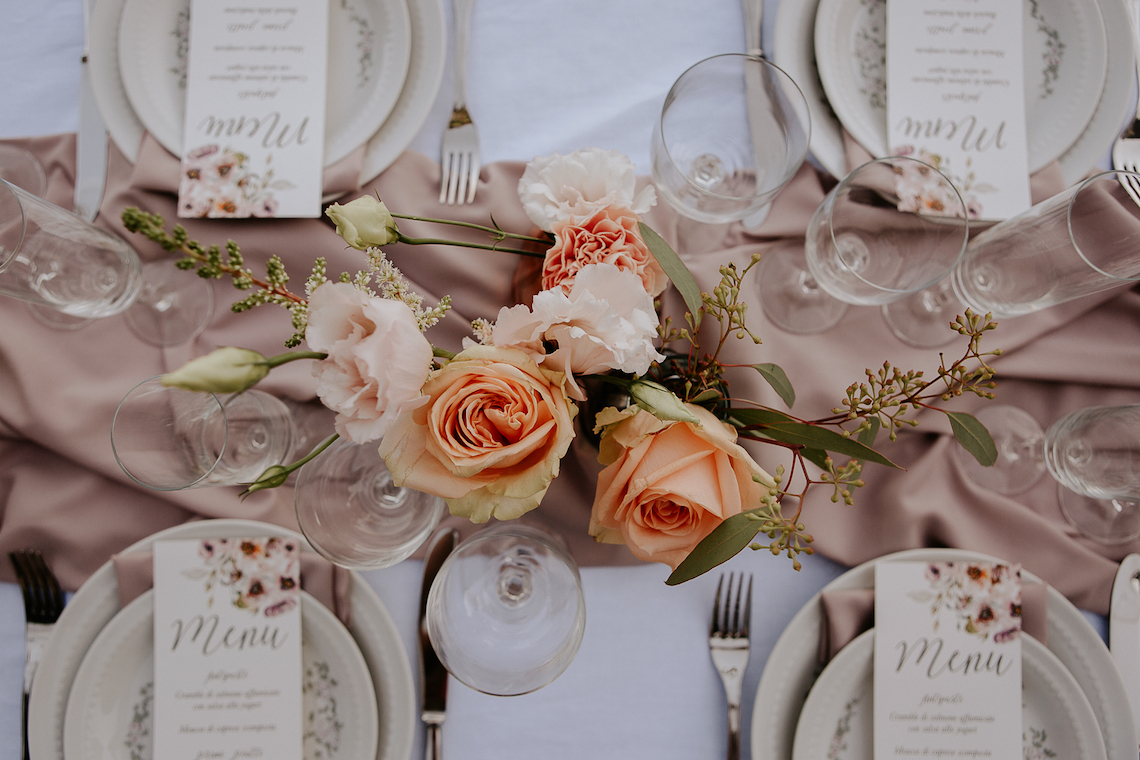 Rose Gold and Copper Cinque Terre Fall Wedding Inspiration – Di Luce e d Ombra – Greta Betton Wedding Planner 3