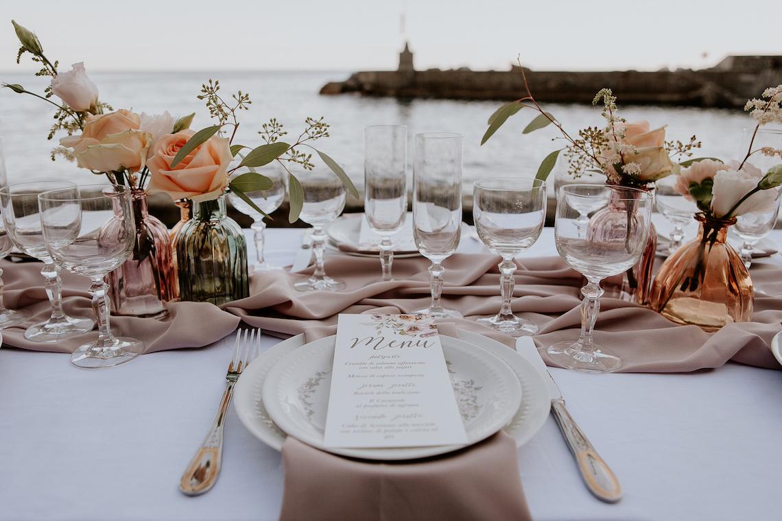 Rose Gold and Copper Cinque Terre Fall Wedding Inspiration – Di Luce e d Ombra – Greta Betton Wedding Planner 4