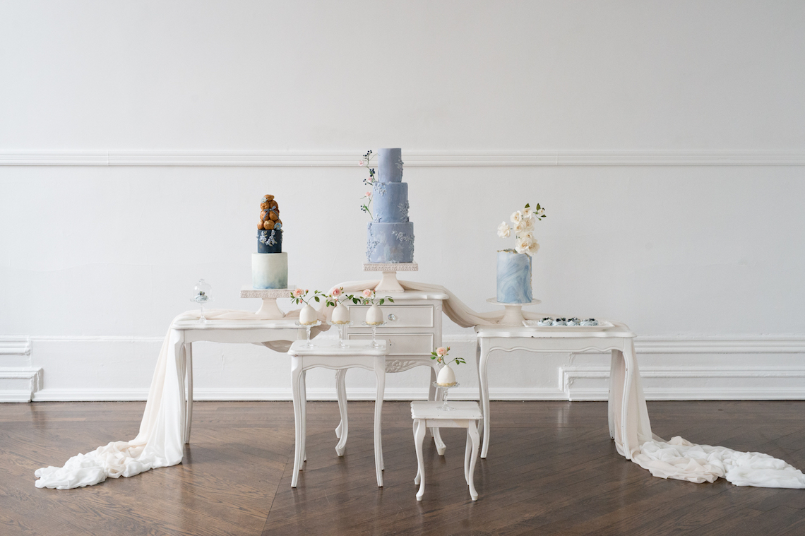 Something Blue Wedding Dessert and Cake Inspiration – Cipriano Palmer Photography 2
