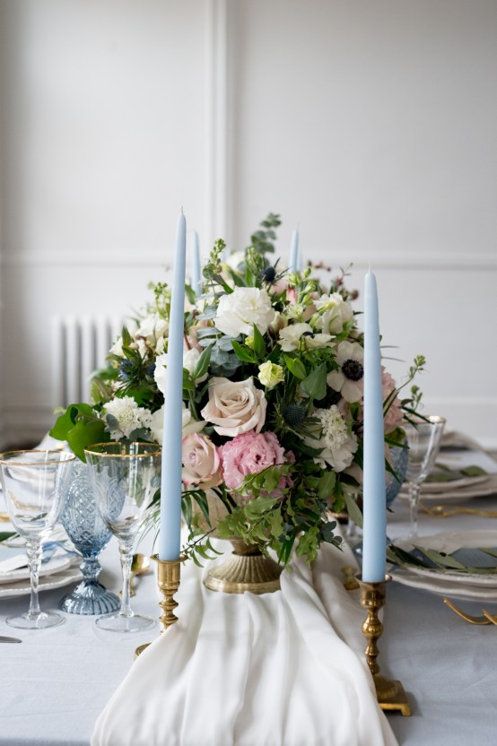 Something Blue Wedding Dessert and Cake Inspiration – Cipriano Palmer Photography 26
