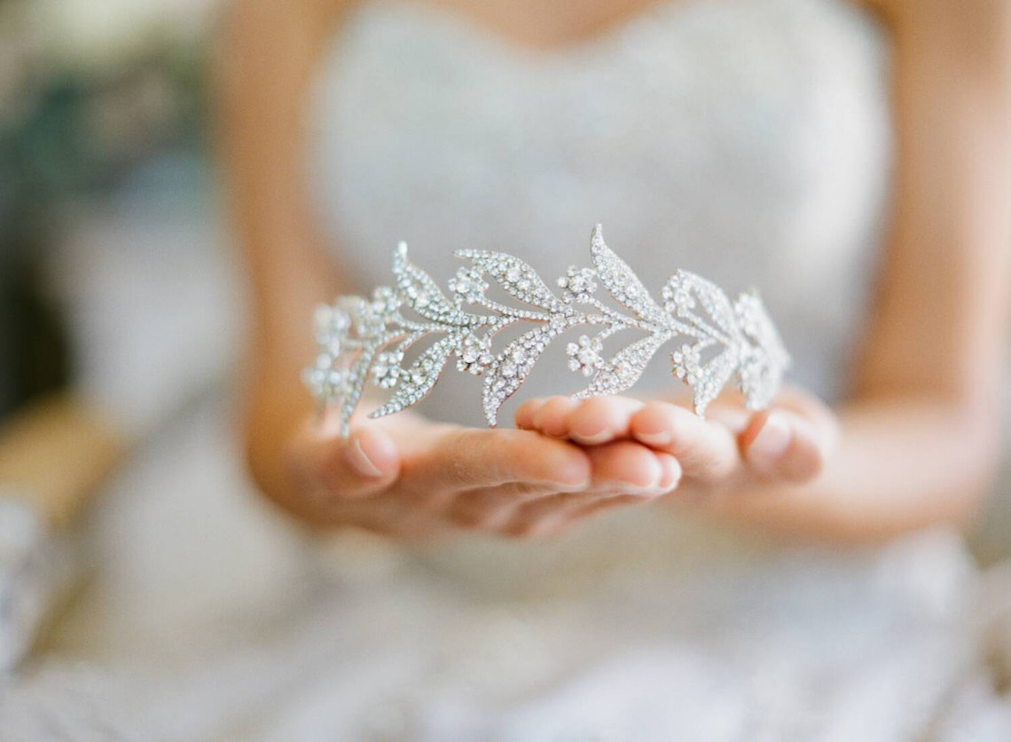 10 Beautiful Bridal Tiaras for Your Wedding – Eden Luxe Bridal Lady Mary Bridal Tiara 2
