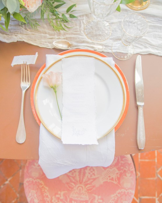 Autumn French Chateau Peach Wedding Inspiration – Szu Designs 13