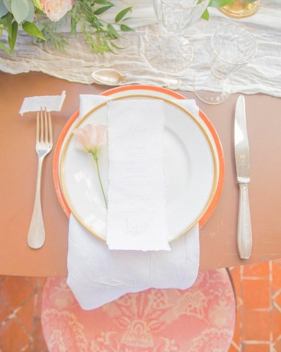 Autumn French Chateau Peach Wedding Inspiration – Szu Designs 13