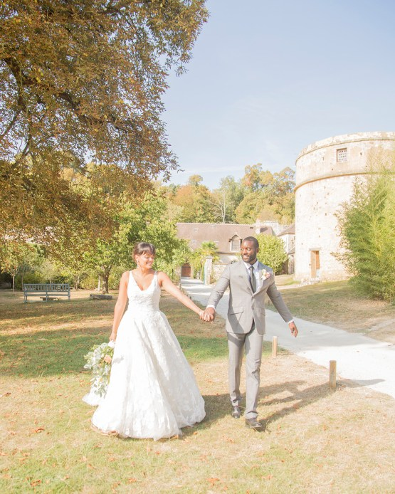 Autumn French Chateau Peach Wedding Inspiration – Szu Designs 23