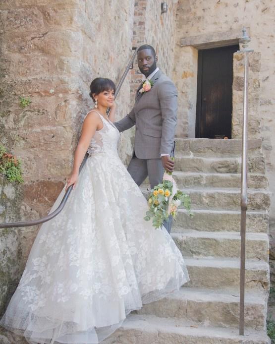 Autumn French Chateau Peach Wedding Inspiration – Szu Designs 27