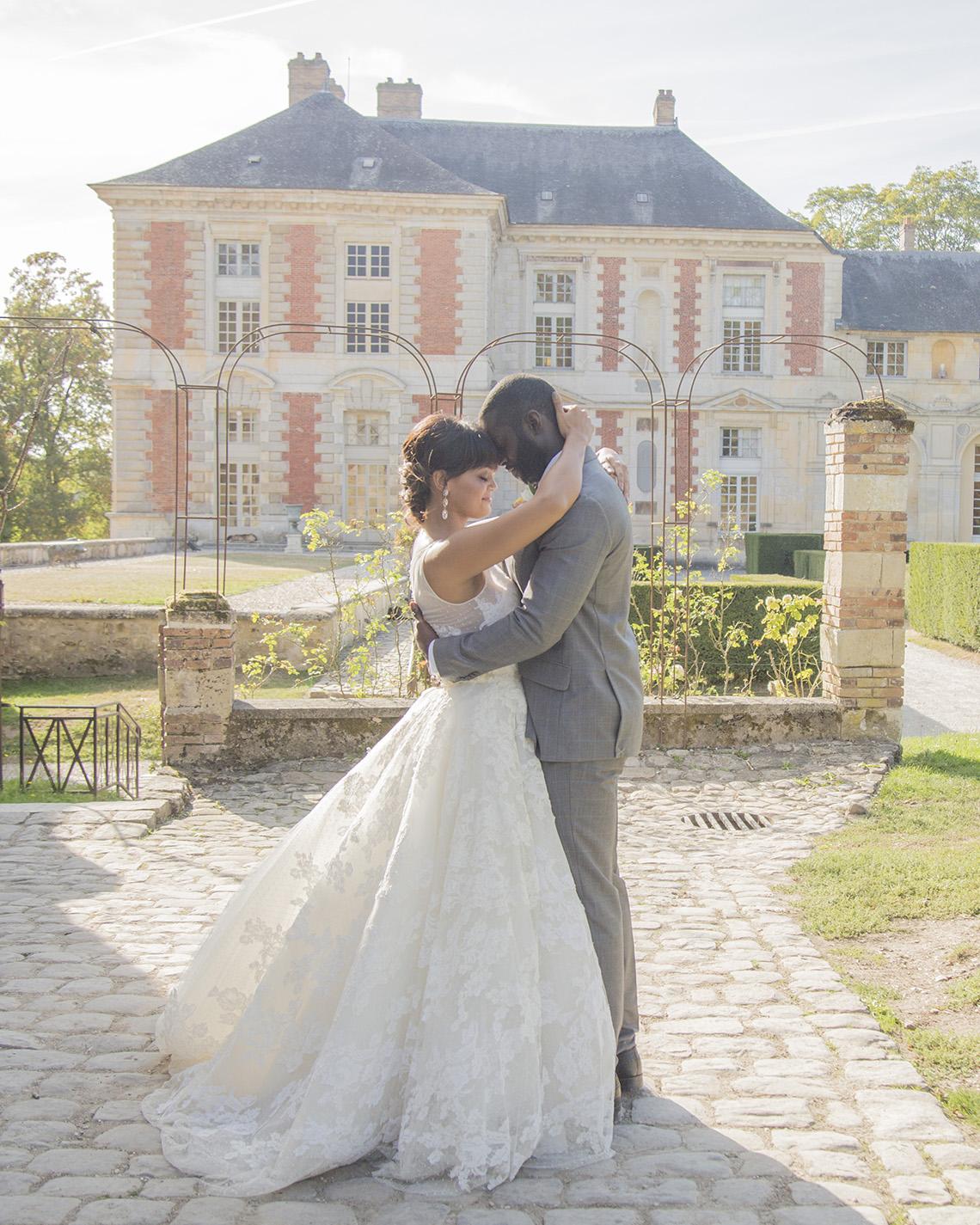 Autumn French Chateau Peach Wedding Inspiration – Szu Designs 29